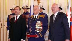 Медведев награждава словашки ветерани от Втората световна