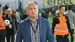 Николай Киров: Вече бяхме в Лига Европа, жалко е, че няма да сме там тази година