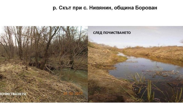 Враца приключи с почистването на речните корита