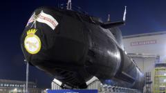 Британската ядрена подводница е измъкната от плитчините
