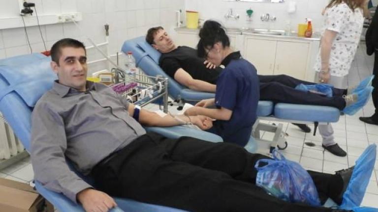 Българите от Босилеград дариха кръв за ВМА