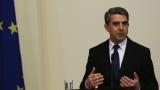 Плевнелиев наложи вето върху новия Изборен кодекс