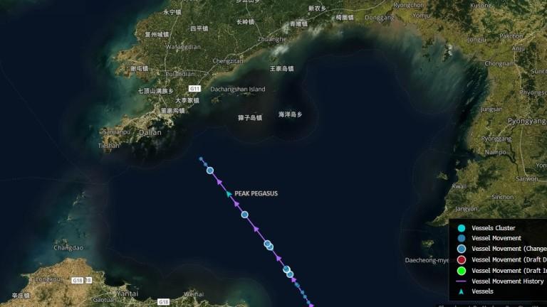 Корабът бе съвсем близо до Китай, когато митата влязоха в сила
