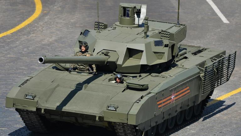Русия възнамерява да продава за износ най-новия си танк Т-14