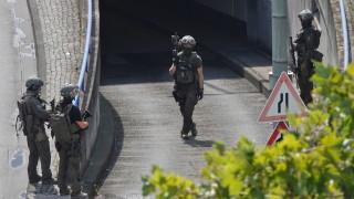 Банков обир затвори жп гарата във Франкфурт