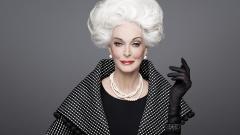 Кармен е най-възрастният модел - на 85 г. (СНИМКИ)