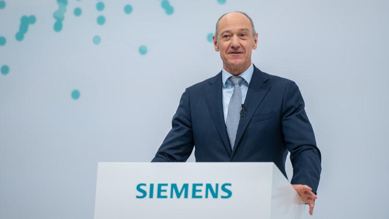Siemens има нов главен изпълнителен директор