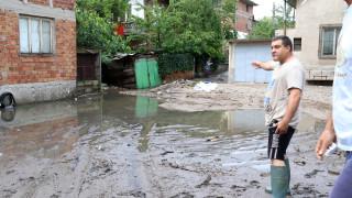Буря удари Хасково, блокира за кратко движението