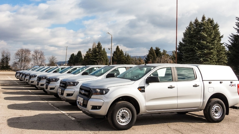 Снимка: МВР осигури 9 нови автомобила като мобилни технически работилници