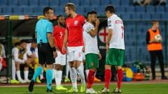 Стърлинг: Съжалявам България, тя бе представлявана от идиоти на техния стадион