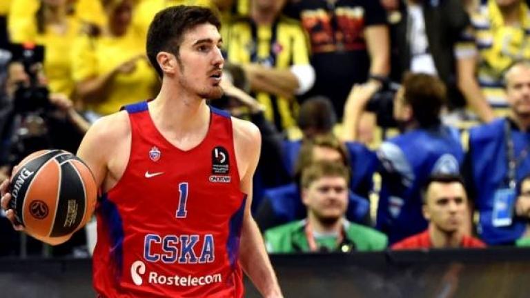ЦСКА (Москва) постигна втора победа вбаскетболната лига. Защитаващият титлата си