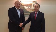 Министър Кралев и Бойко Коцев проведоха работна среща в Москва