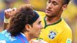 Неймар под въпрос е за мача с Колумбия