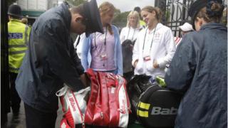 Обискират тенисисти в Лондон
