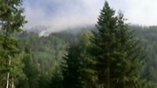 Пожарът бушува на няколко километра от Рилския манастир
