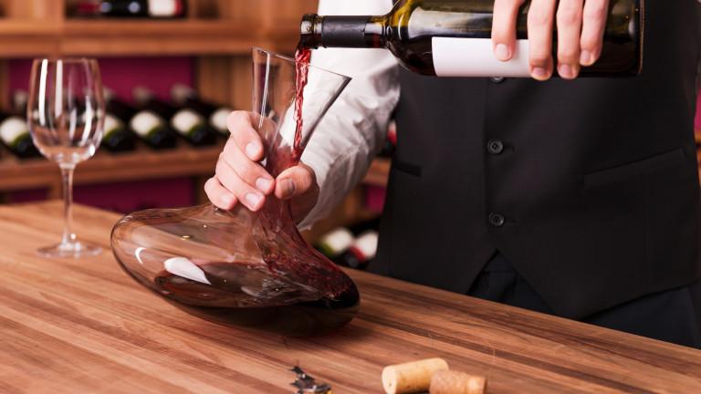 Снимка: Защо задължително трябва да декантираме виното