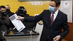 Албин Курти обяви победа на изборите в Косово