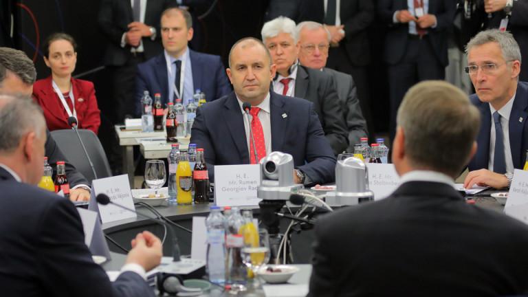 Радев мълчи, че в Кошице е подписал остра декларация срещу Русия