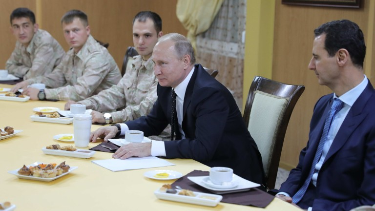 Асад - офис момчето на Путин