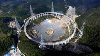 Китай прави най-големия радиотелескоп в света в търсене на извънземни