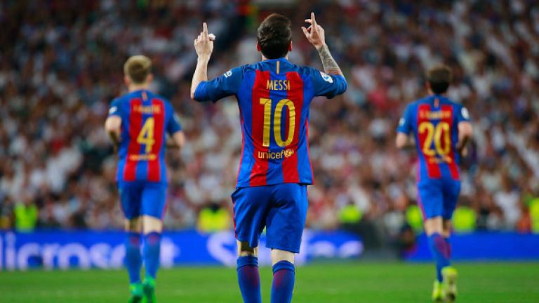 Реал (Мадрид) - Барселона 2:3 (Развой на срещата по минути)