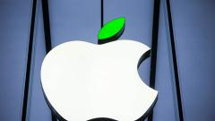 Ден на Земята в Apple - лого със зелена опашка