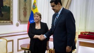 Върховният комисар на ООН за правата на човека зове за диалог между Гуайдо и Мадуро