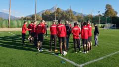 ЦСКА ще тренира двуразово до контролата с Академия Пушкаш