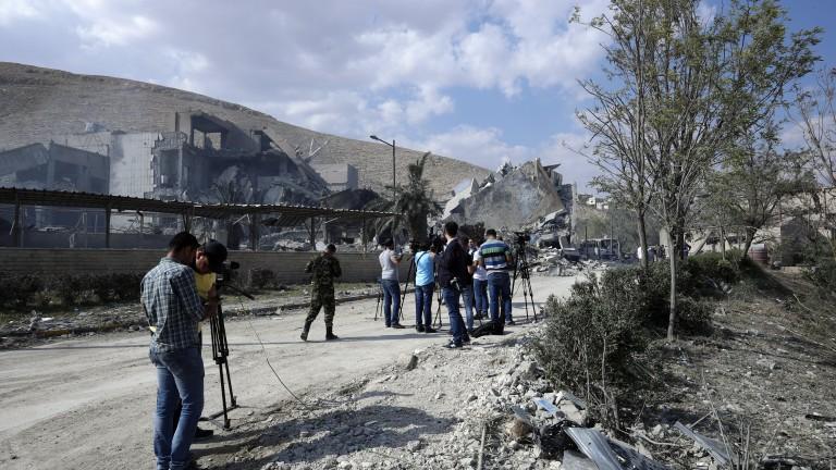 САЩ са предупредили Израел за ударите в Сирия