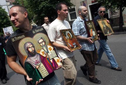Литийно шествие срещу гей-парада в София