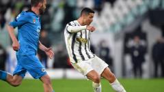 Гълъбинов игра срещу Роналдо и Ювентус, но Специя загуби