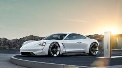Гори, гори, Porsche Taycan
