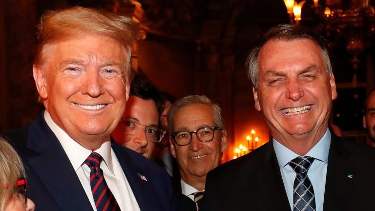 Болсонару подкрепя Тръмп, но се въздържа от оценки на изборите