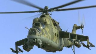 Бунтовници свалиха хеликоптер в Хама