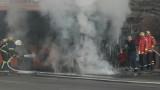Запали се автобус на градския транспорт в столицата