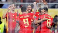 Испания оцеля в румънския ад