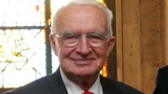 Почина бившият управител на БНБ проф. Тодор Вълчев
