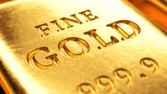 Цената на златото се вдига с отслабването на долара