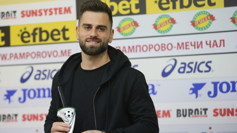 Новото попълнение на Славия - Питър Макрилос набързо придоби популярност