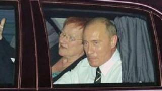 Финландският президент Таря Халонен на посещение в Русия
