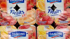 Danone закрива заводи в Германия, Италия и Унгария
