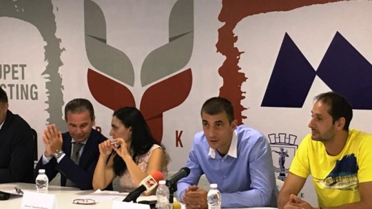 Волейболният проект Дунав цели да задържи младежите в града