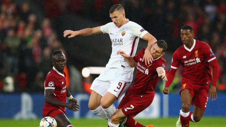 Рома предлага нов договор на Един Джеко