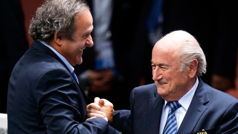 Блатер и Платини изхвърлени от футбола за 8 години
