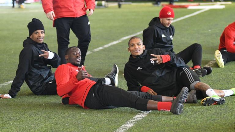ЦСКА започна подготовка за домакинството на Етър
