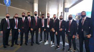 ЦСКА вече е на румънска земя