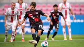 Четвърта поредна победа за Байерн (Мюнхен) в Бундеслигата