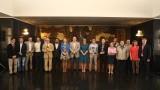 Красен Кралев, Екатерина Захариева и Антоанета Стефанова наградиха призьорите от Първия турнир по шахмат за дипломати