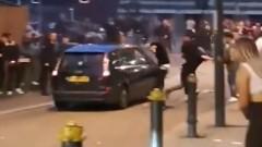 Кола се вряза в пешеходци в Нюпорт