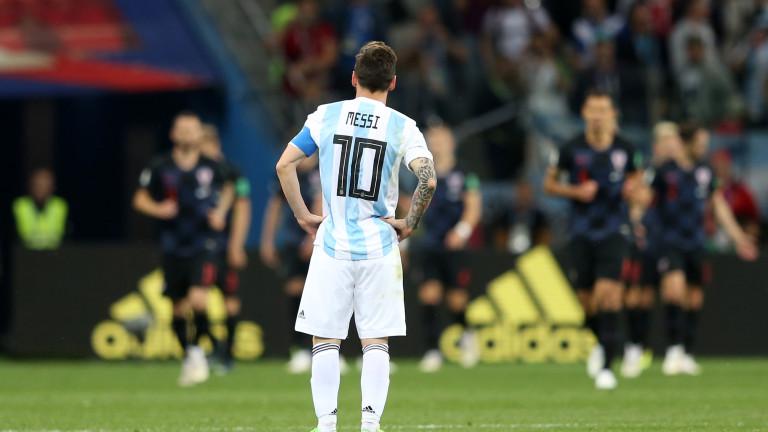 Голямата звезда на аржентинската селекция по футбол Лионел Меси на
